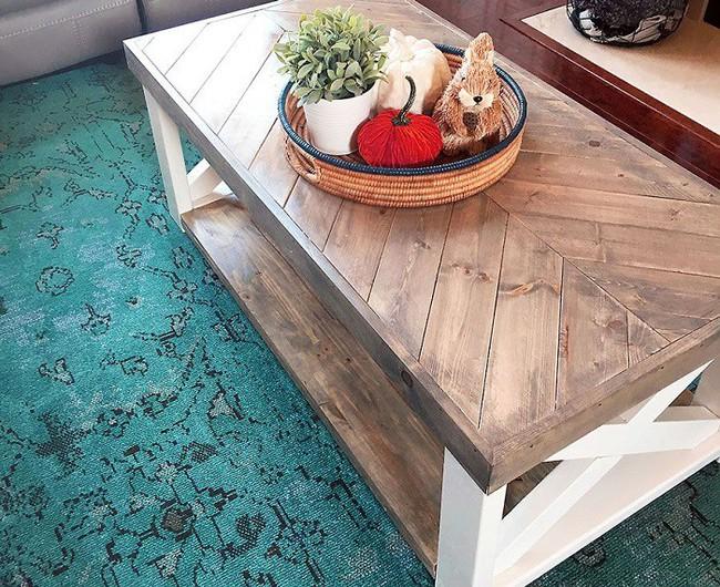 10 mẫu bàn uống nước bằng gỗ cực dễ làm mà bạn có thể tự thực hiện ngay tại nhà mình - Ảnh 1.