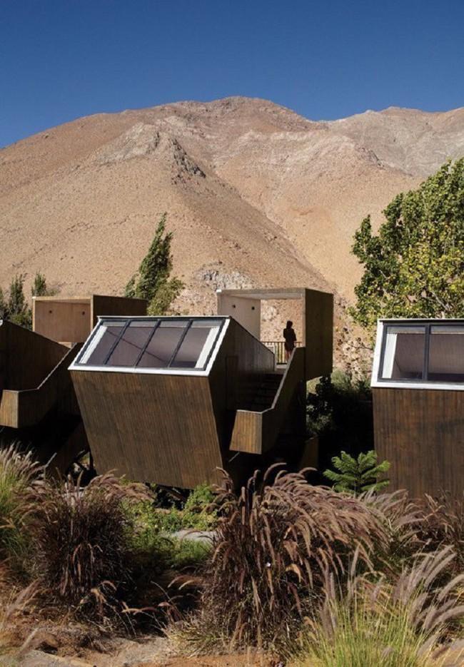 15 công trình kiến trúc nhà ở đáng kinh ngạc nằm cheo leo trên vách núi, số 14 thách thức những người sợ độ cao - Ảnh 4.