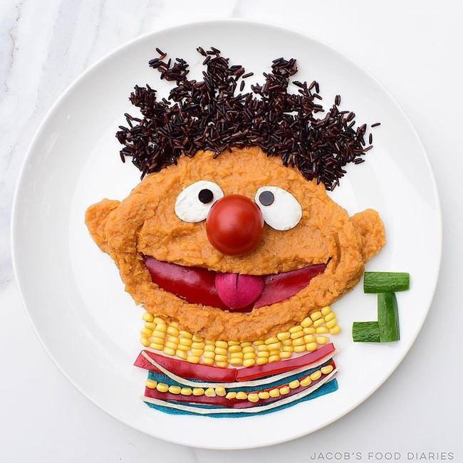 Đã mắt ngắm cách trang trí món ăn tuyệt đẹp của mẹ đảm để dụ dỗ con ăn rau dễ dàng - Ảnh 15.