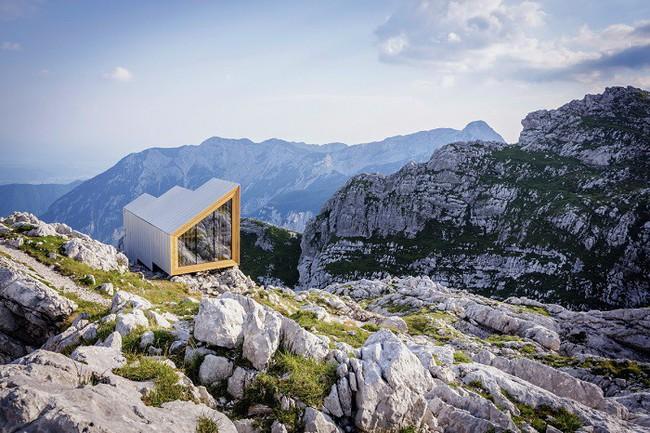 15 công trình kiến trúc nhà ở đáng kinh ngạc nằm cheo leo trên vách núi, số 14 thách thức những người sợ độ cao - Ảnh 9.