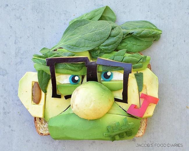 Đã mắt ngắm cách trang trí món ăn tuyệt đẹp của mẹ đảm để dụ dỗ con ăn rau dễ dàng - Ảnh 11.