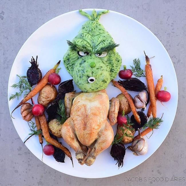 Đã mắt ngắm cách trang trí món ăn tuyệt đẹp của mẹ đảm để dụ dỗ con ăn rau dễ dàng - Ảnh 12.
