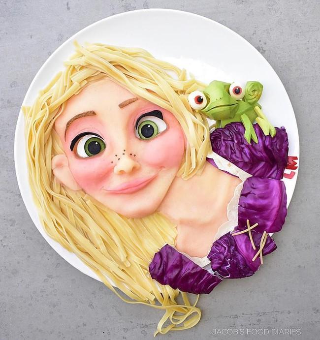 Đã mắt ngắm cách trang trí món ăn tuyệt đẹp của mẹ đảm để dụ dỗ con ăn rau dễ dàng - Ảnh 10.