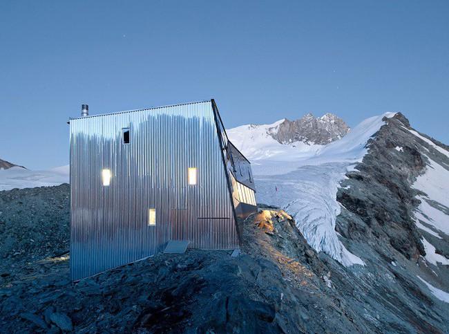 15 công trình kiến trúc nhà ở đáng kinh ngạc nằm cheo leo trên vách núi, số 14 thách thức những người sợ độ cao - Ảnh 11.