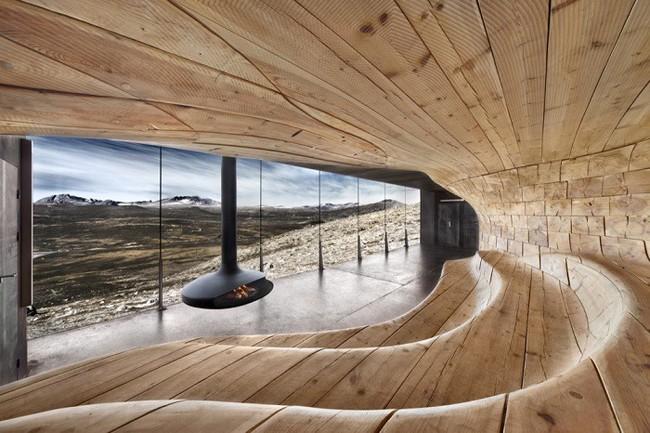 15 công trình kiến trúc nhà ở đáng kinh ngạc nằm cheo leo trên vách núi, số 14 thách thức những người sợ độ cao - Ảnh 12.
