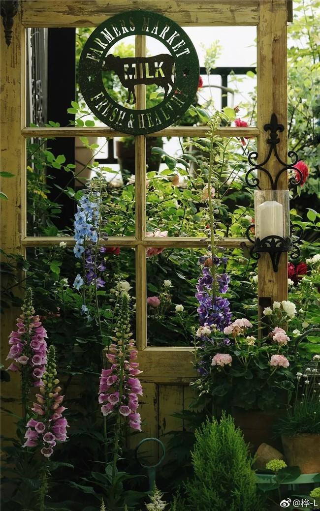 Khu vườn dịu dàng nét xuân, trăm hoa đua nở trên sân thượng 88m² của bà mẹ hai con  - Ảnh 12.