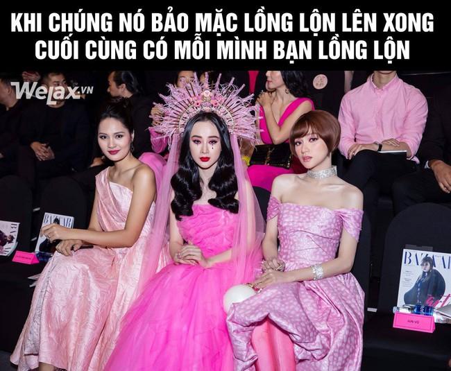 Angela Phương Trinh ngồi thật buồn giữa hai cô Hương Giang - Ảnh 2.