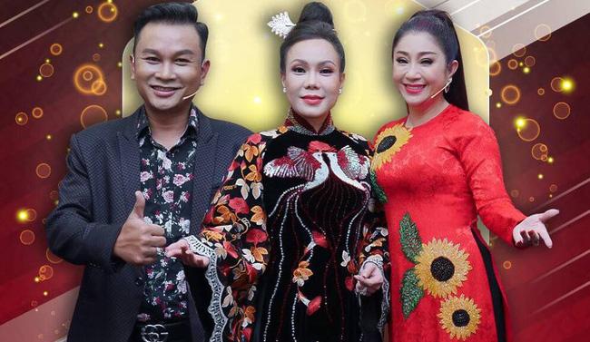 Akira Phan - Hồ Bích Trâm khiến Việt Hương thót tim với màn xiếc trên không - Ảnh 2.