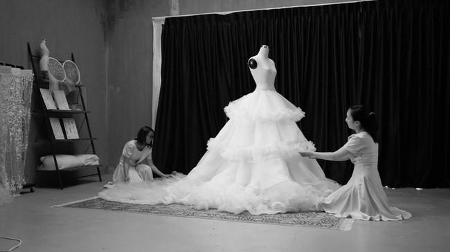 Lộ diện váy cưới Cinderella đời thực trị giá 400 triệu của Á hậu Thanh Tú - Ảnh 4.