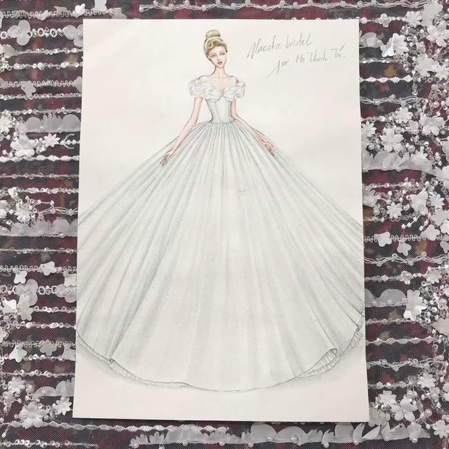 Lộ diện váy cưới Cinderella đời thực trị giá 400 triệu của Á hậu Thanh Tú - Ảnh 6.
