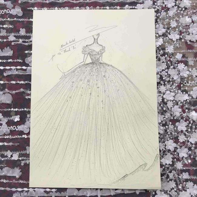 Lộ diện váy cưới Cinderella đời thực trị giá 400 triệu của Á hậu Thanh Tú - Ảnh 7.