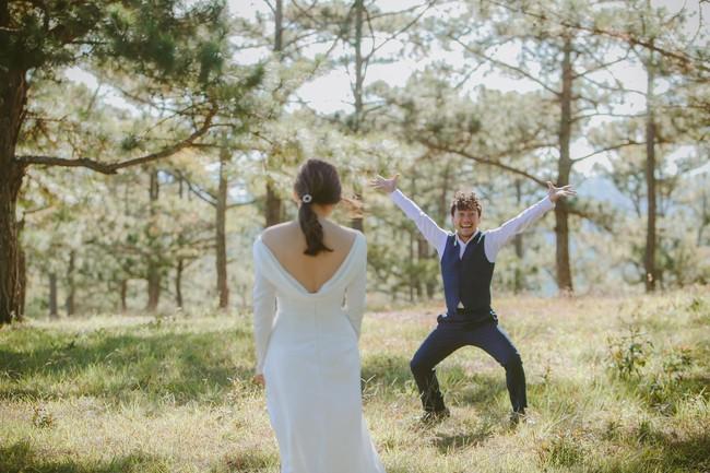 Phấn khích sau lễ cưới, Tiến Đạt lập tức làm ngay điều này - Ảnh 1.