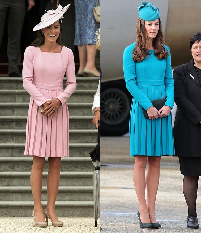 Đừng vội nghĩ Công nương Kate tiết kiệm khi diện lại 1 thiết kế, kỳ thực cô ấy mua hẳn phiên bản khác màu đấy! - Ảnh 6.