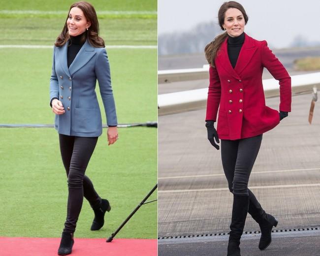 Đừng vội nghĩ Công nương Kate tiết kiệm khi diện lại 1 thiết kế, kỳ thực cô ấy mua hẳn phiên bản khác màu đấy! - Ảnh 3.