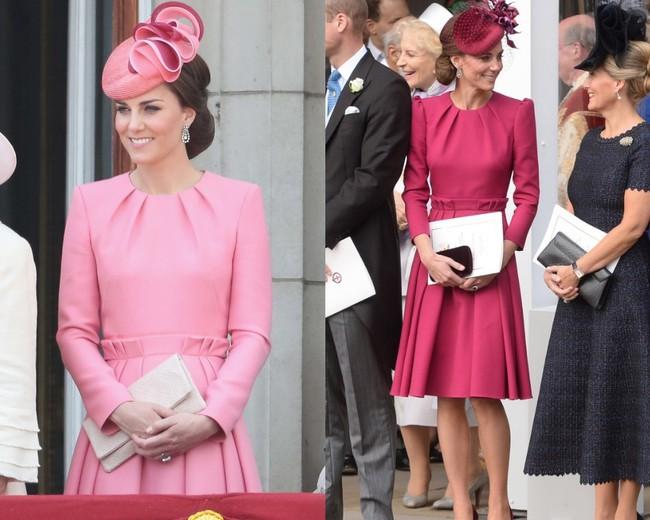 Đừng vội nghĩ Công nương Kate tiết kiệm khi diện lại 1 thiết kế, kỳ thực cô ấy mua hẳn phiên bản khác màu đấy! - Ảnh 4.