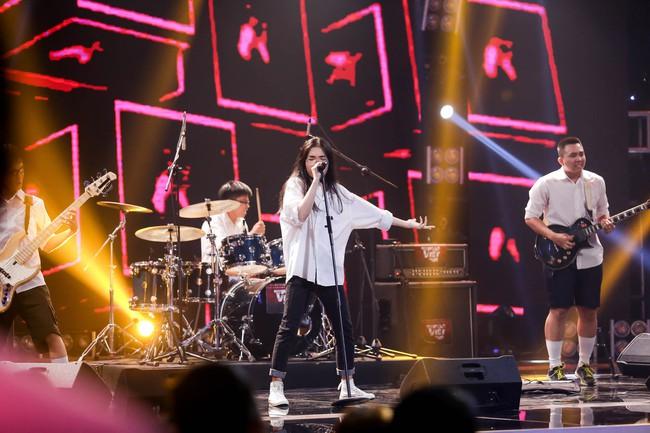 Mỹ Linh tuyên bố đoạn tuyệt tình cảm với Phương Uyên trong tập đầu Ban nhạc Việt mùa 2 - Ảnh 6.