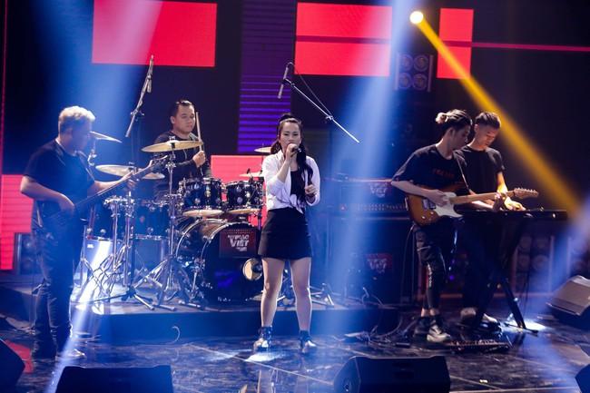 Mỹ Linh tuyên bố đoạn tuyệt tình cảm với Phương Uyên trong tập đầu Ban nhạc Việt mùa 2 - Ảnh 11.