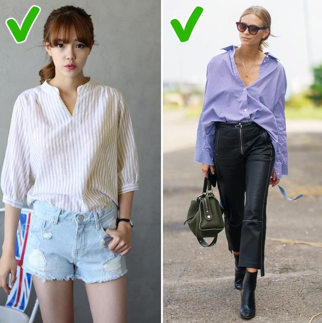 7 mẹo dễ như ăn kẹo giúp chị em thoải mái mặc đồ oversize mà không lo bị nuốt dáng - Ảnh 6.