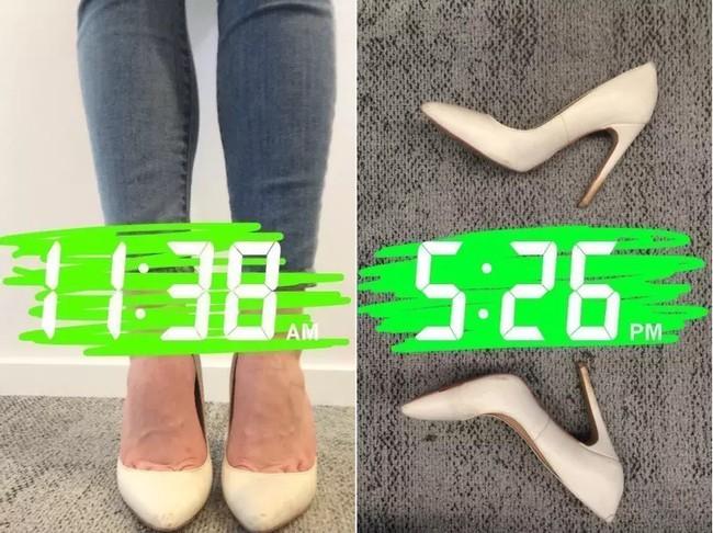Để giảm đau chân khi đi giày cao gót, cô nàng này đã tìm ra tuyệt kỹ rẻ và hữu hiệu nhất nhờ thứ này - Ảnh 15.