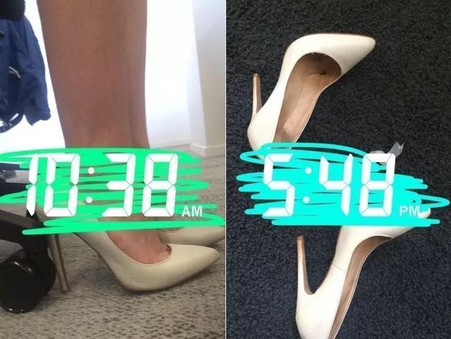 Để giảm đau chân khi đi giày cao gót, cô nàng này đã tìm ra tuyệt kỹ rẻ và hữu hiệu nhất nhờ thứ này - Ảnh 10.