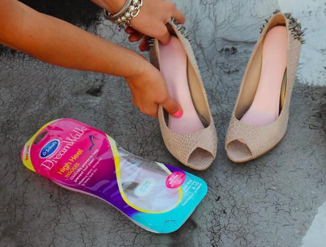 Để giảm đau chân khi đi giày cao gót, cô nàng này đã tìm ra tuyệt kỹ rẻ và hữu hiệu nhất nhờ thứ này - Ảnh 14.