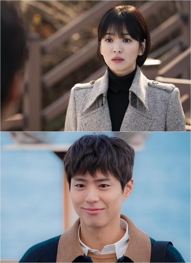 Sau scandal ăn mỳ cùng nhau, Song Hye Kyo lo lắng khi gặp lại Park Bo Gum - Ảnh 2.