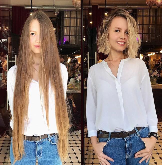 15 hình ảnh lột xác hoàn toàn của chị em chứng minh sức mạnh vi diệu của việc cắt tóc ngắn - Ảnh 1.