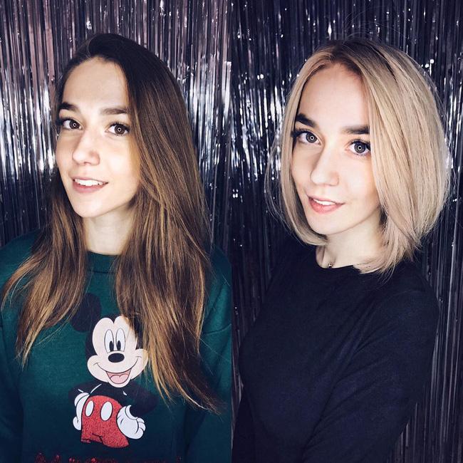 15 hình ảnh lột xác hoàn toàn của chị em chứng minh sức mạnh vi diệu của việc cắt tóc ngắn - Ảnh 3.
