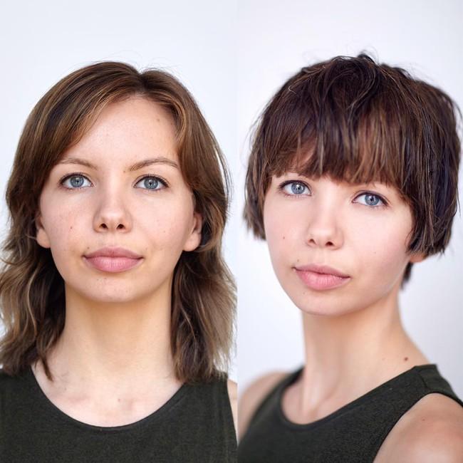 15 hình ảnh lột xác hoàn toàn của chị em chứng minh sức mạnh vi diệu của việc cắt tóc ngắn - Ảnh 5.