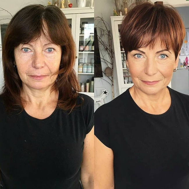 15 hình ảnh lột xác hoàn toàn của chị em chứng minh sức mạnh vi diệu của việc cắt tóc ngắn - Ảnh 8.