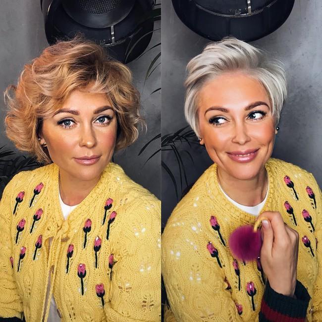 15 hình ảnh lột xác hoàn toàn của chị em chứng minh sức mạnh vi diệu của việc cắt tóc ngắn - Ảnh 9.