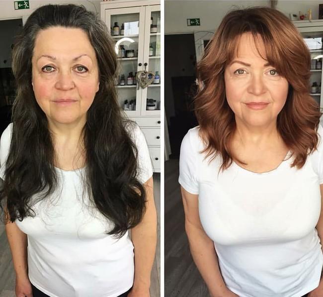 15 hình ảnh lột xác hoàn toàn của chị em chứng minh sức mạnh vi diệu của việc cắt tóc ngắn - Ảnh 10.