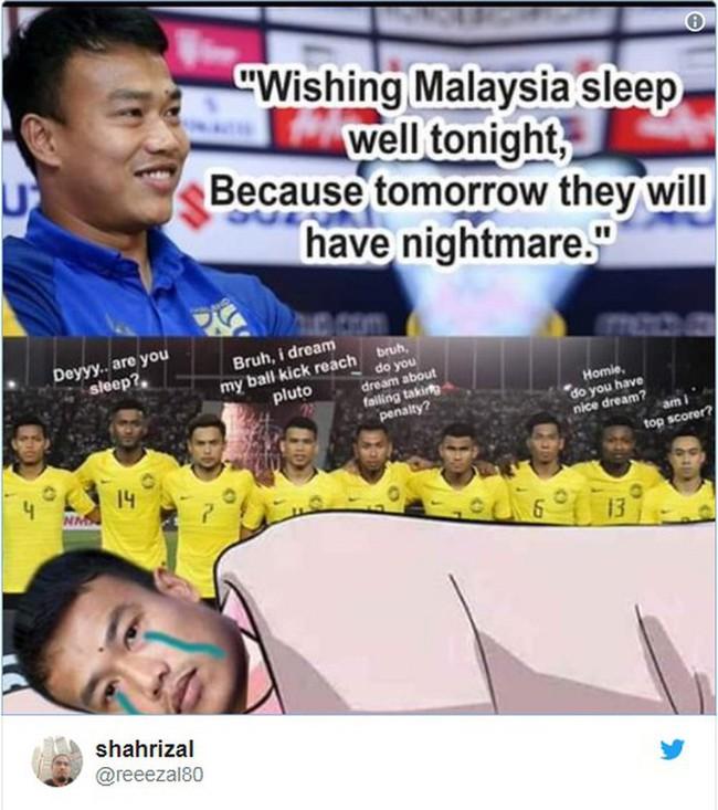 Hậu chiến thắng, tuyển Malaysia trả thù cực gắt thủ môn Thái Lan vì phát ngôn kiêu ngạo: Gọi tên Chatchai trong cơn ác mộng - Ảnh 6.