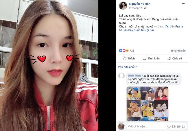 Anti-fan thi nhau vào Facebook Kỳ Hân khoe Ly Kute vừa mua xe tiền tỷ, bà xã Mạc Hồng Quân đáp trả bằng điều này - Ảnh 3.