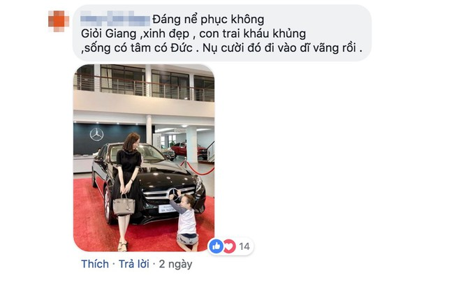 Anti-fan thi nhau vào Facebook Kỳ Hân khoe Ly Kute vừa mua xe tiền tỷ, bà xã Mạc Hồng Quân đáp trả bằng điều này - Ảnh 2.