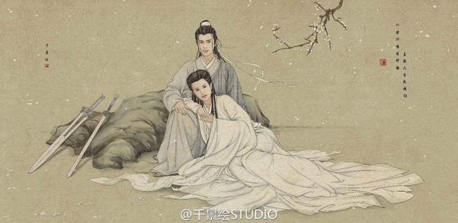 Muôn kiểu đu dây của Tiểu Long Nữ qua từng phiên bản: Ấn tượng nhất vẫn là Cô Cô của Vu Chính! - Ảnh 1.
