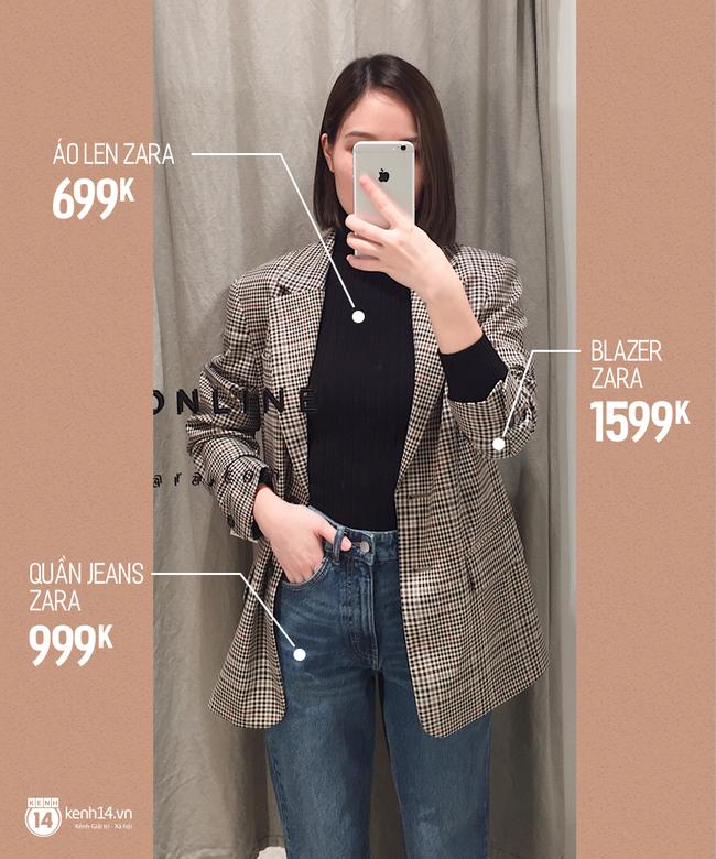 Dạo một vòng chọn mua blazer, tiện thể mách nước cho nàng công sở cách phối blazer + áo cổ lọ vừa ấm vừa đẹp - Ảnh 1.