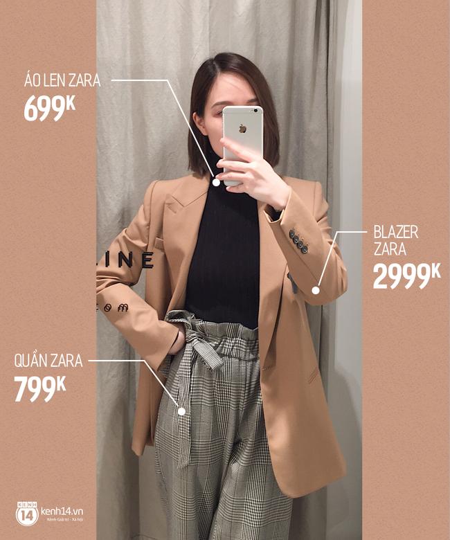 Dạo một vòng chọn mua blazer, tiện thể mách nước cho nàng công sở cách phối blazer + áo cổ lọ vừa ấm vừa đẹp - Ảnh 2.