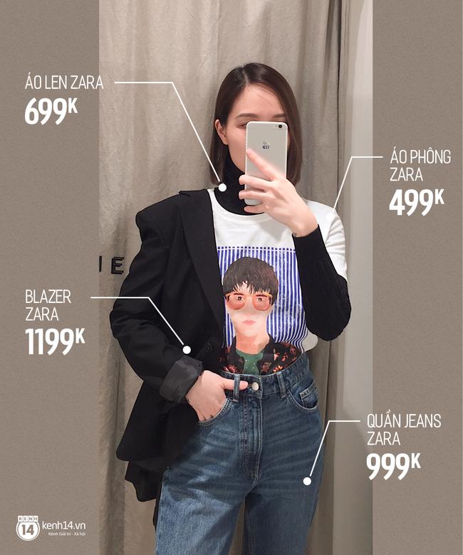 Dạo một vòng chọn mua blazer, tiện thể mách nước cho nàng công sở cách phối blazer + áo cổ lọ vừa ấm vừa đẹp - Ảnh 4.