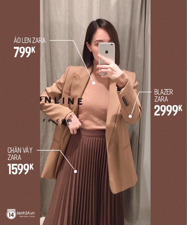 Dạo một vòng chọn mua blazer, tiện thể mách nước cho nàng công sở cách phối blazer + áo cổ lọ vừa ấm vừa đẹp - Ảnh 5.