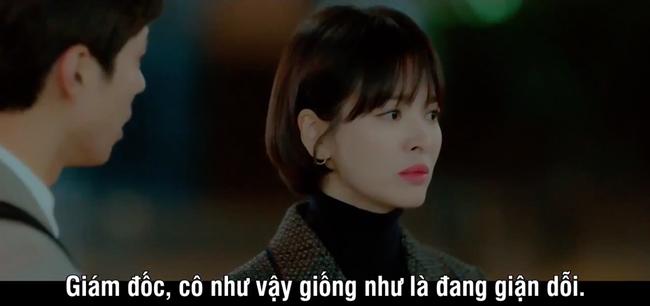 Mải mê ngắm trai trẻ, Song Hye Kyo bị xe tông - Ảnh 8.