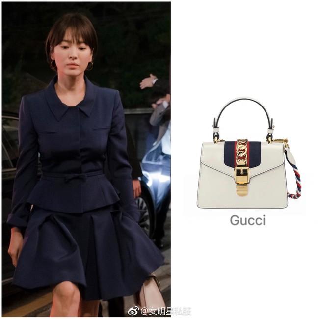 """Song Hye Kyo lại khiến dân tình choáng ngợp với """"kho"""" đồ hiệu, chỉ riêng túi đã hơn 1 tỷ đồng trong phim mới - Ảnh 8."""