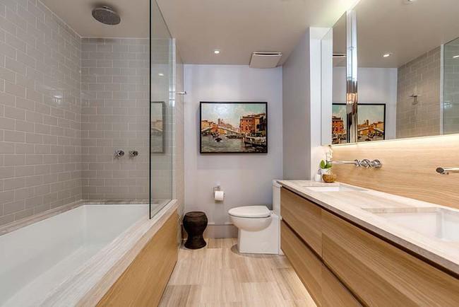 Đâu chỉ phòng khách, phòng ngủ mà phòng tắm cũng cần có một bức tranh treo tường - Ảnh 18.