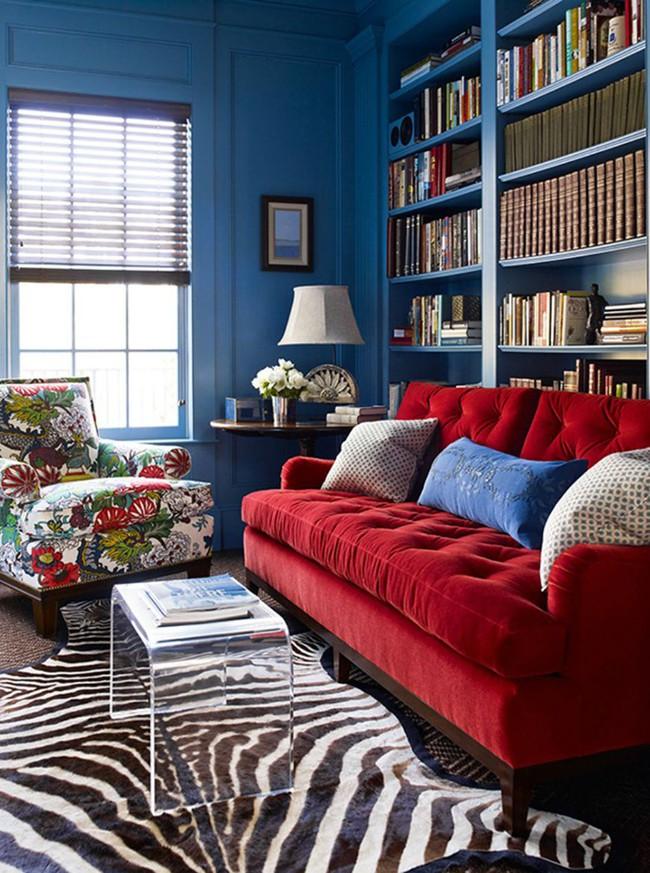 Đừng bỏ lỡ chiếc ghế sofa đỏ cho phòng khách khi mùa lễ hội đã cận kề - Ảnh 3.