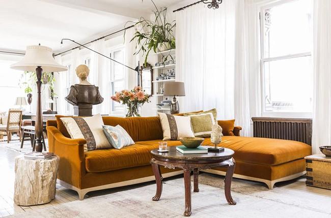 Lựa chọn theo cách này đảm bảo ghế sofa nhà bạn sẽ luôn nổi bật trong mọi không gian sinh hoạt - Ảnh 3.