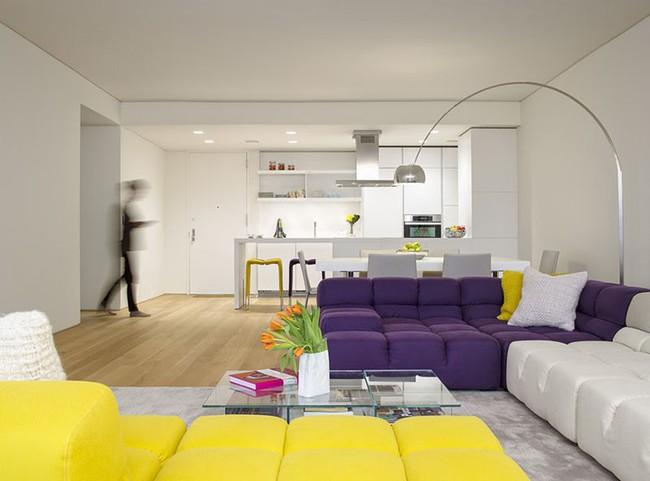 Lựa chọn theo cách này đảm bảo ghế sofa nhà bạn sẽ luôn nổi bật trong mọi không gian sinh hoạt - Ảnh 7.
