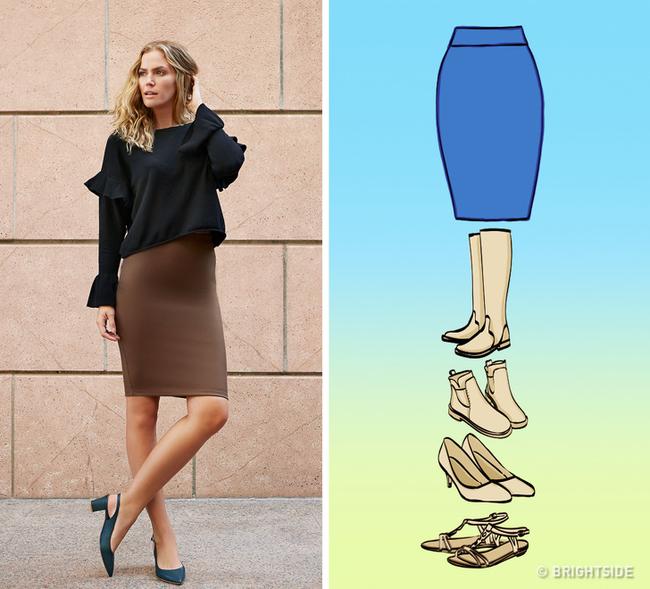8 kiểu chân váy chị em ưa chuộng sẽ trở nên hoàn hảo với những mẹo kết hợp giày dép đơn giản dưới đây - Ảnh 1.