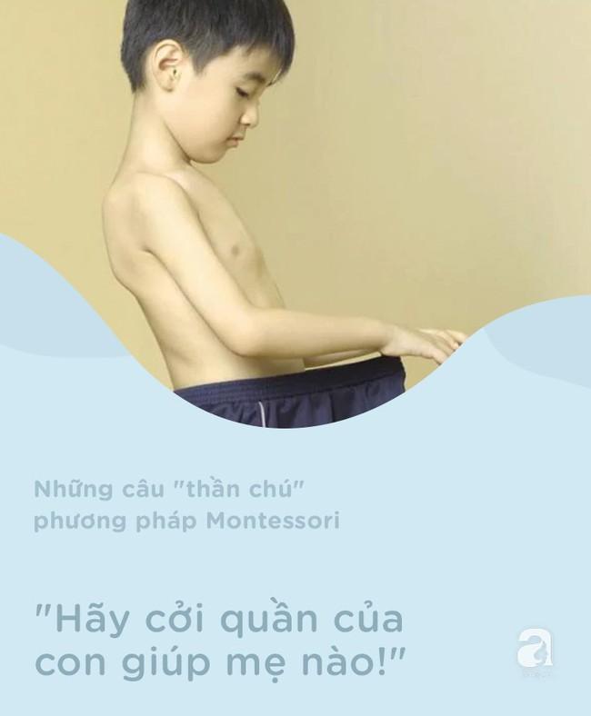 8 câu thần chú từ phương pháp Montessori giúp dạy bé đi vệ sinh dễ dàng - Ảnh 4.