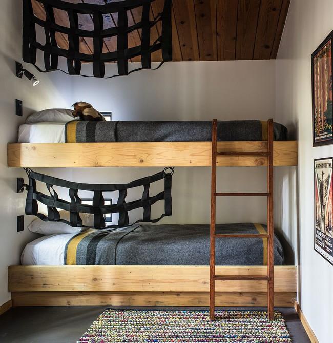 Ngôi nhà gỗ nằm giữa rừng Redwood gây thương nhớ vì vẻ đẹp hiện đại của mình - Ảnh 5.
