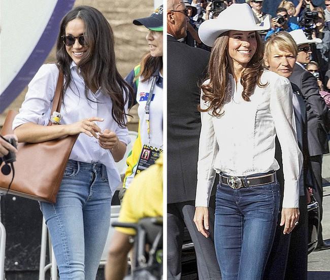 12 kiểu trang phục đơn giản mà sang trọng được hai Công nương Hoàng gia Anh ưa chuộng, chị em hoàn toàn có thể học hỏi - Ảnh 11.